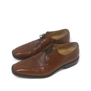 Harlan Brandon Covent Leather Lace Up Loafers